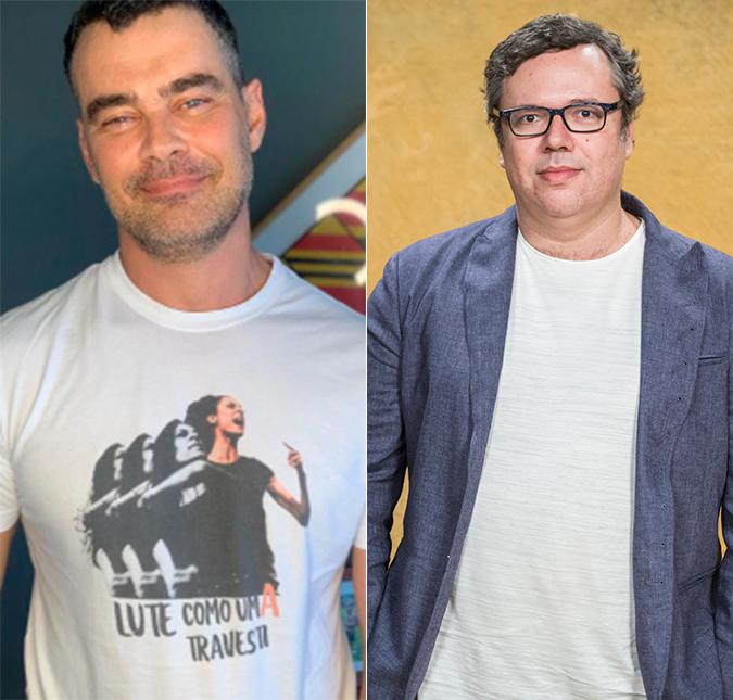 Carmo se declarou para o marido o autor João Emanuel Carneiro durante programa
