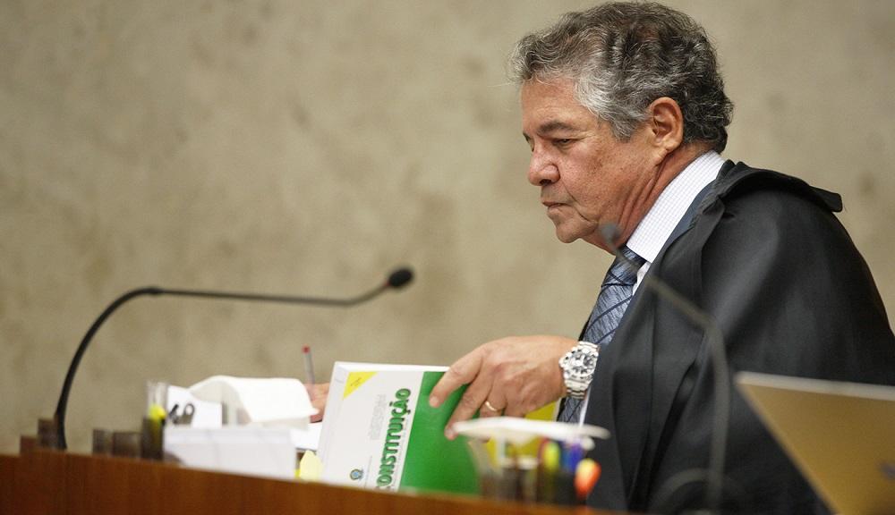 Ministro Marco Aurélio ficou no STF por mais de 30 anos (Divulgação STF)