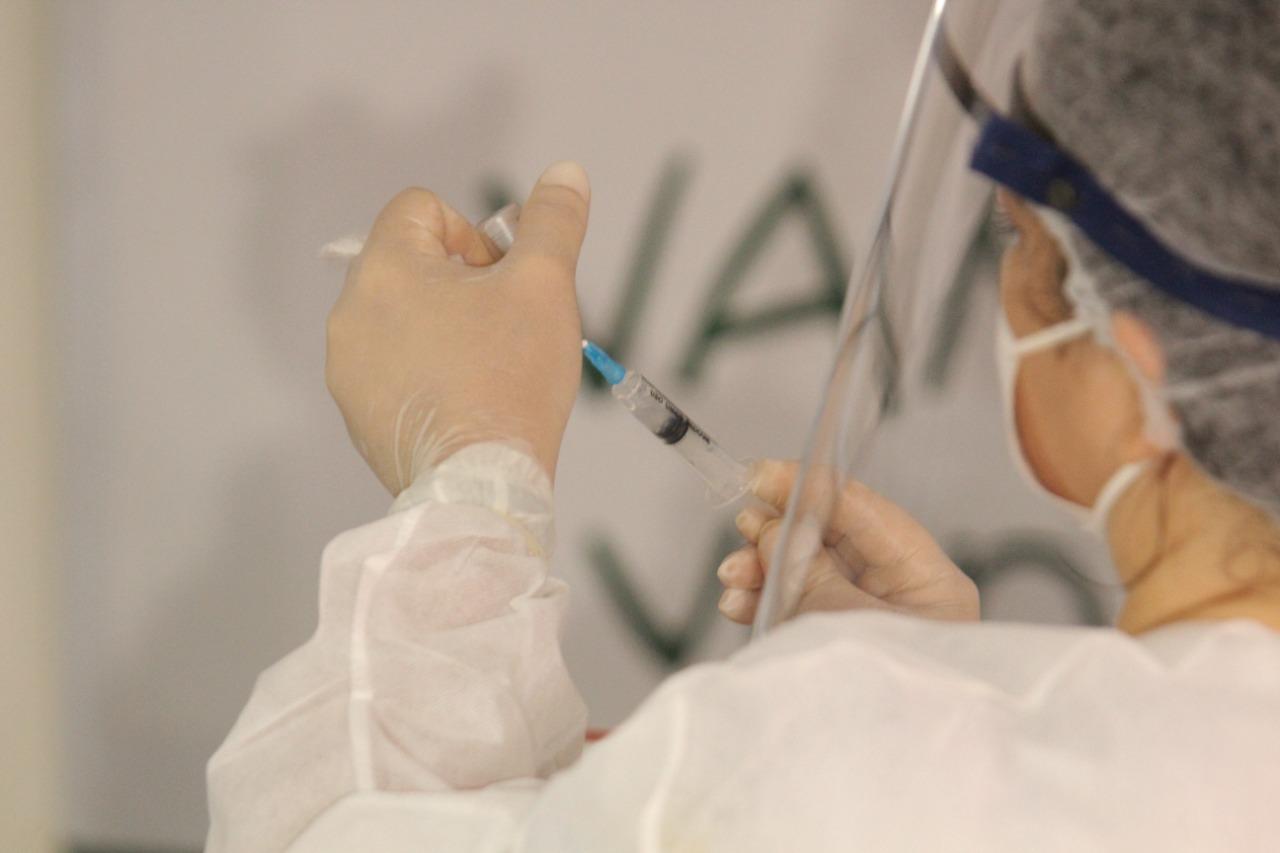 Sesapi destaca a importância de vacinação de gestantes contra a Covid-19 (Foto: Raíssa Morais/ Portal MN)