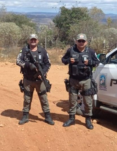 Polícia Militar de Betânia do Piauí realizou a prisão em flagrante do acusado (Foto: Reprodução/ PM)