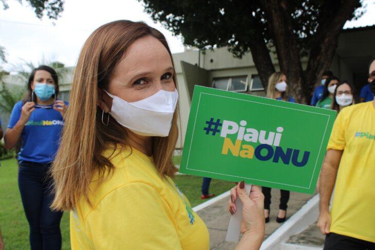 A superintendente Viviane Moura vai falar um pouco sobre a PPP da Nova Ceasa - Foto: Ascom