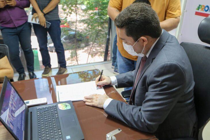 A aprovação do currículo pelo Conselho Estadual de Educação (CEE) aconteceu durante o evento híbrido - Foto: Ascom