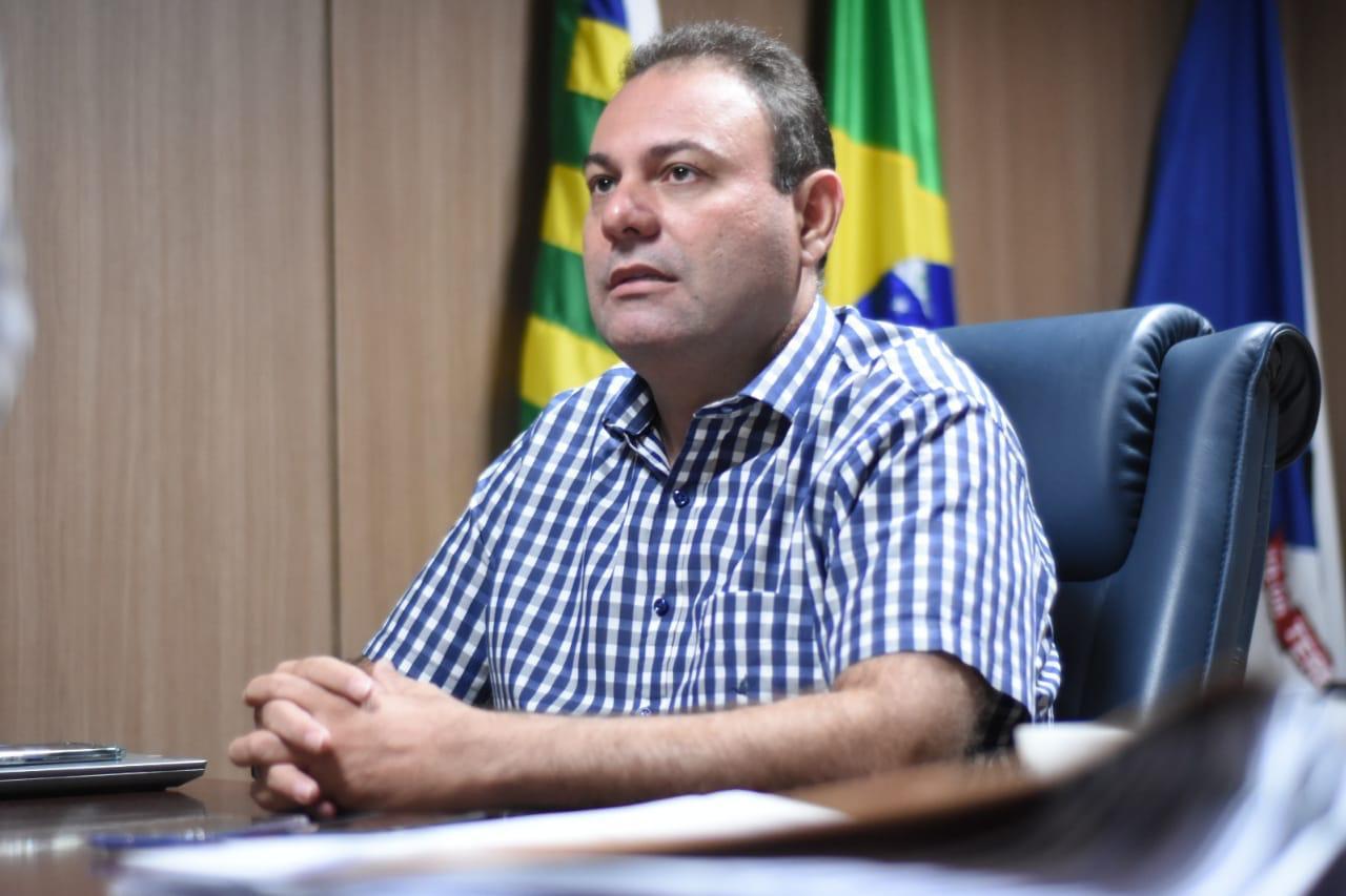 Vereador Jeová Alencar fala sobre aprovação da LDO (Divulgação)