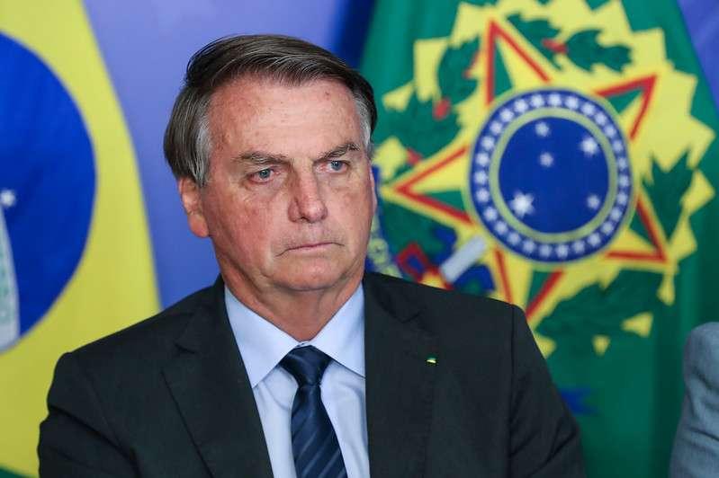 Jair Bolsonaro foi internado após sentir dores Foto: Isac Nóbrega/PR