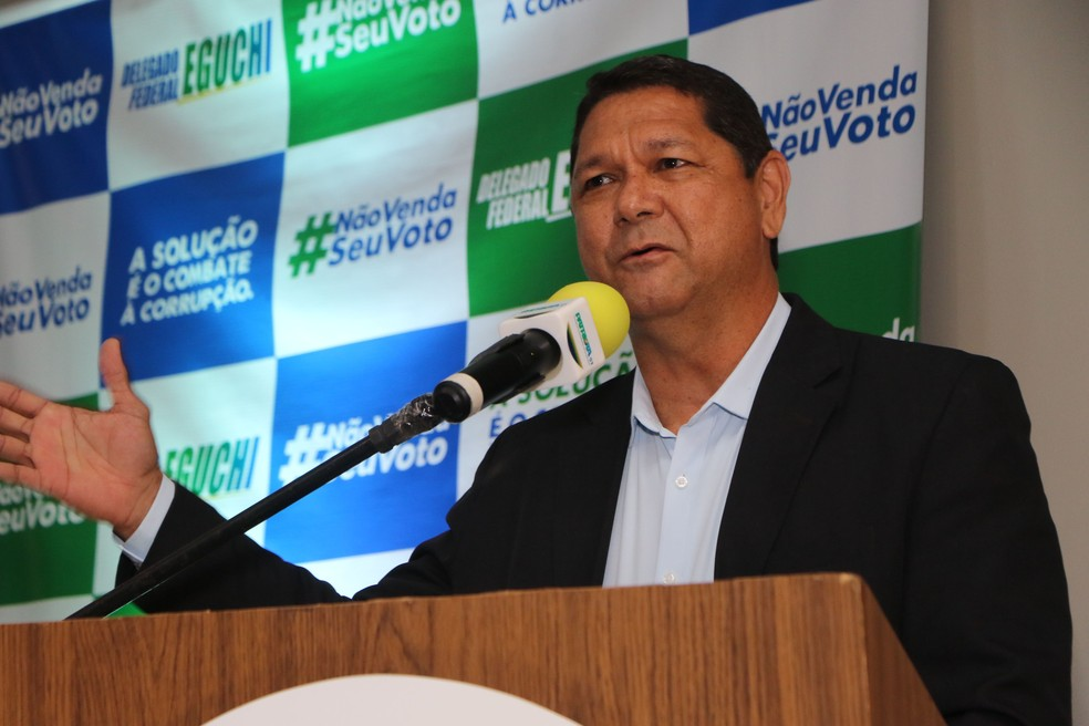 Delegado Eguchi | FOTO: Elivaldo Pamplona/ O Liberal