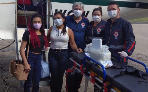 Isac Gael Marques, de um mês e 14 dias de vida sofria de Síndrome da Hipoplasia do Coração Esquerdo (SHCE) - Foto: Divulgação/Sesapi