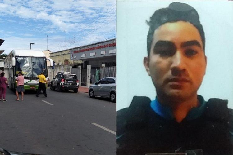 Policial foi morto com vários tiros disparados pelos criminosos dentro de ônibus - Foto: Reprodução