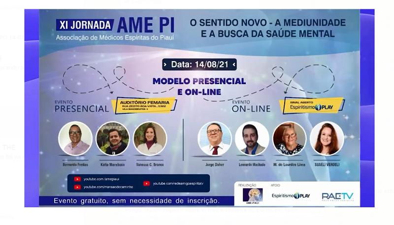 XI Jornada da AME aconteçe nesta quarta-feira (14)- Imagem/Divulgação