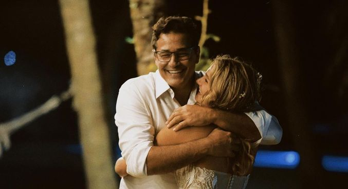 Sasha fez uma declração de amor ao pai Luciano Szafir. (Foto: Reprodução - Instagram)