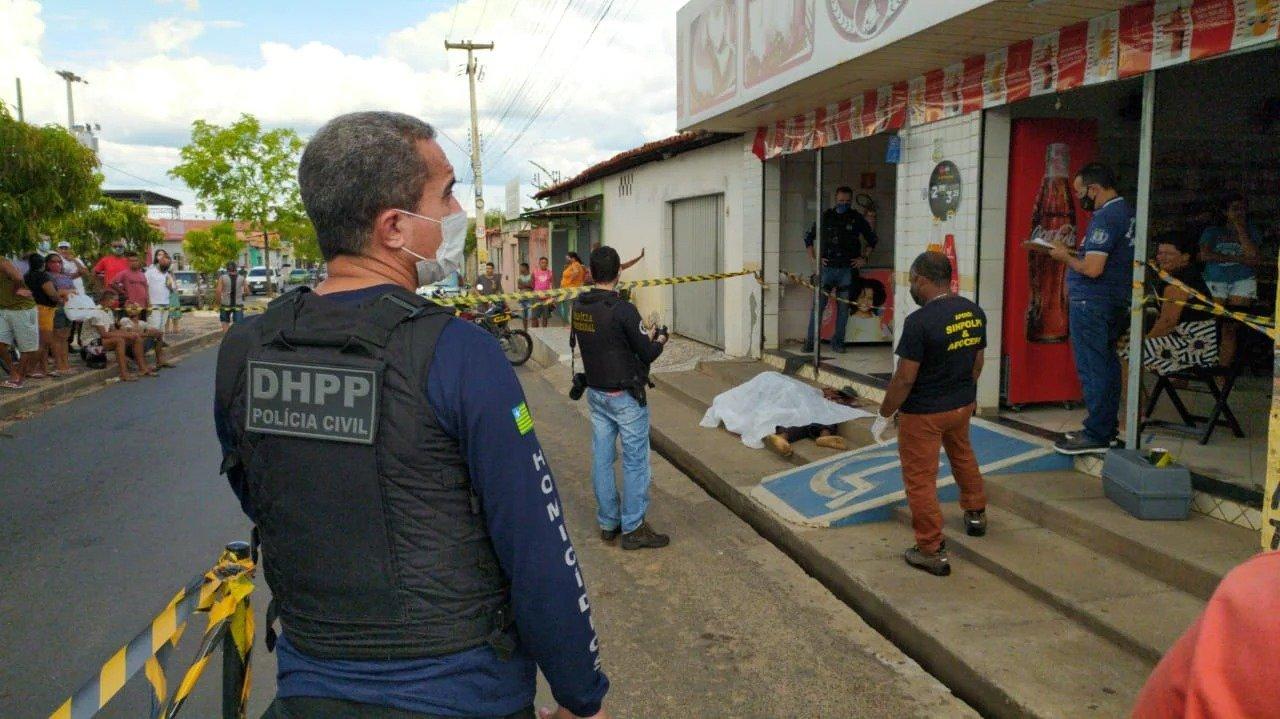 Apesar de restrições de pessoas, Piauí teve alta ano passado em mortes violentas (Foto: Ivan Lima/ Portal MN)