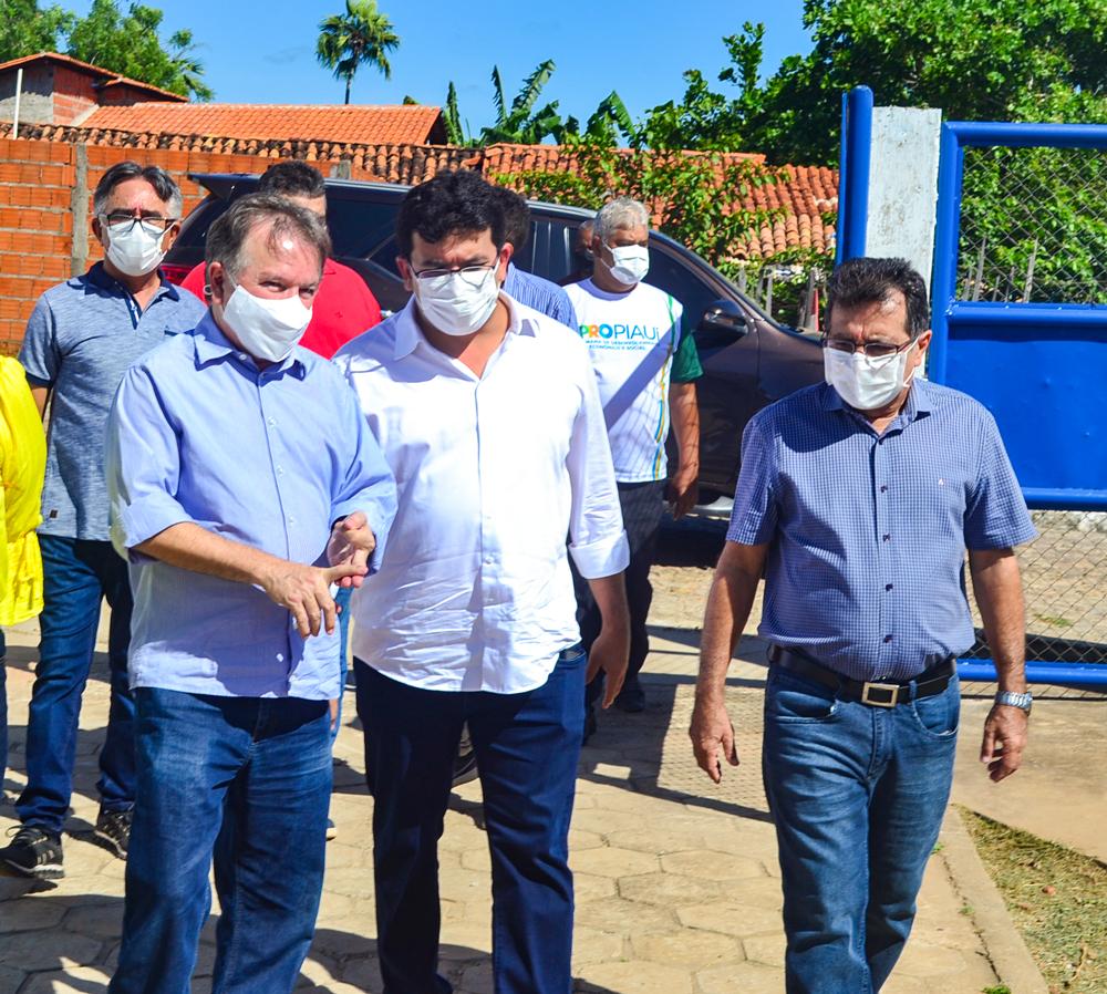 Prefeito Genival Bezerra recebe o Coordenador do PRO PIAUÍ Rafael Fonteles - Imagem 3