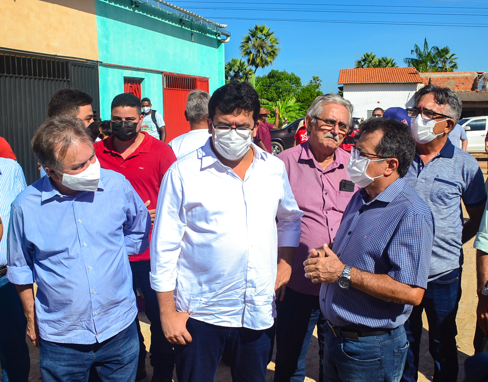 Prefeito Genival Bezerra recebe o Coordenador do PRO PIAUÍ Rafael Fonteles - Imagem 1