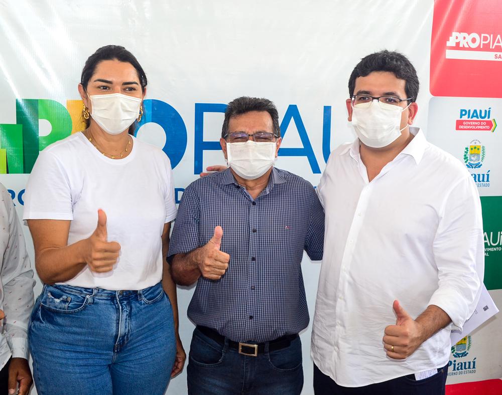 Prefeito Genival Bezerra recebe o Coordenador do PRO PIAUÍ Rafael Fonteles - Imagem 18