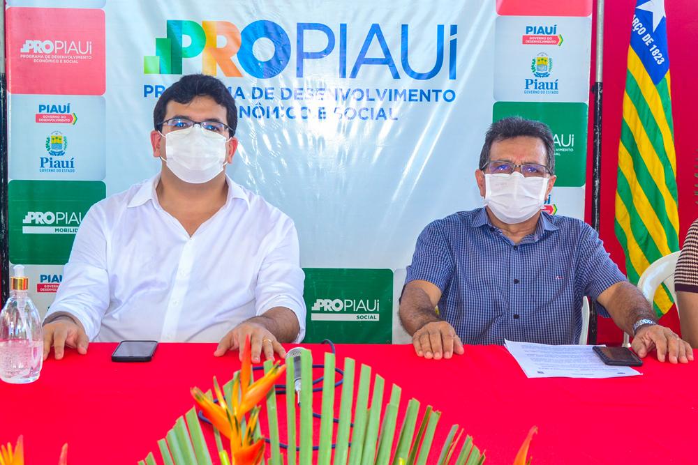 Prefeito Genival Bezerra recebe o Coordenador do PRO PIAUÍ Rafael Fonteles - Imagem 10