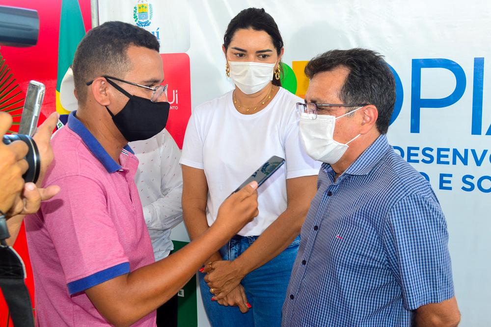 Prefeito Genival Bezerra recebe o Coordenador do PRO PIAUÍ Rafael Fonteles - Imagem 19