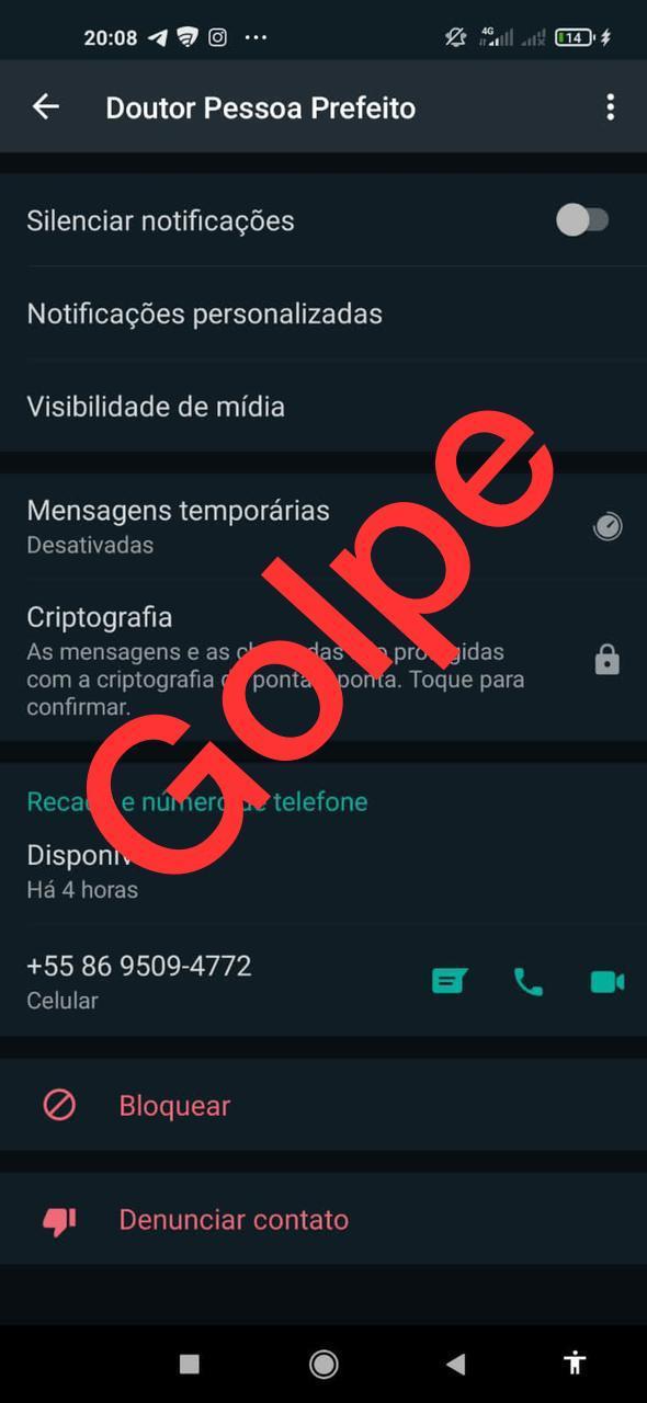 Assessoria do prefeito Doutor Pessoa acionará a Polícia Civil