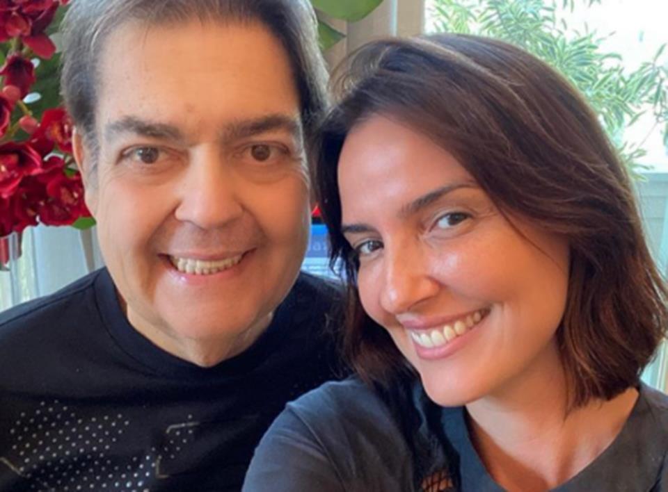 Luciana Cardoso, mulher de Faustão foi demitida da Globo e irá trabalhar na Band com ele