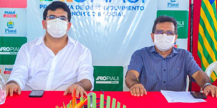 Prefeito Genival Bezerra recebe o Coordenador do PRO PIAUÍ Rafael Fonteles