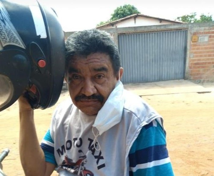 Mototaxista Elizeu Oliveira não resistiu aos ferimentos (Foto: Reprodução)