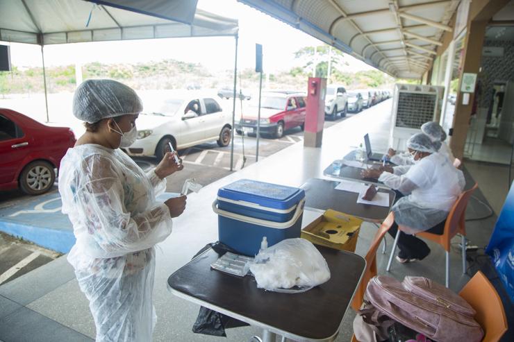 Vacinação contra a Covid-19 continua com aplicação da segunda dose em Timon | FOTO: Divulgação