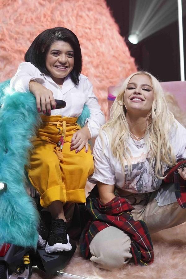 Luísa Sonza e Pequena Lô (Foto: Multishow/Divulgação)