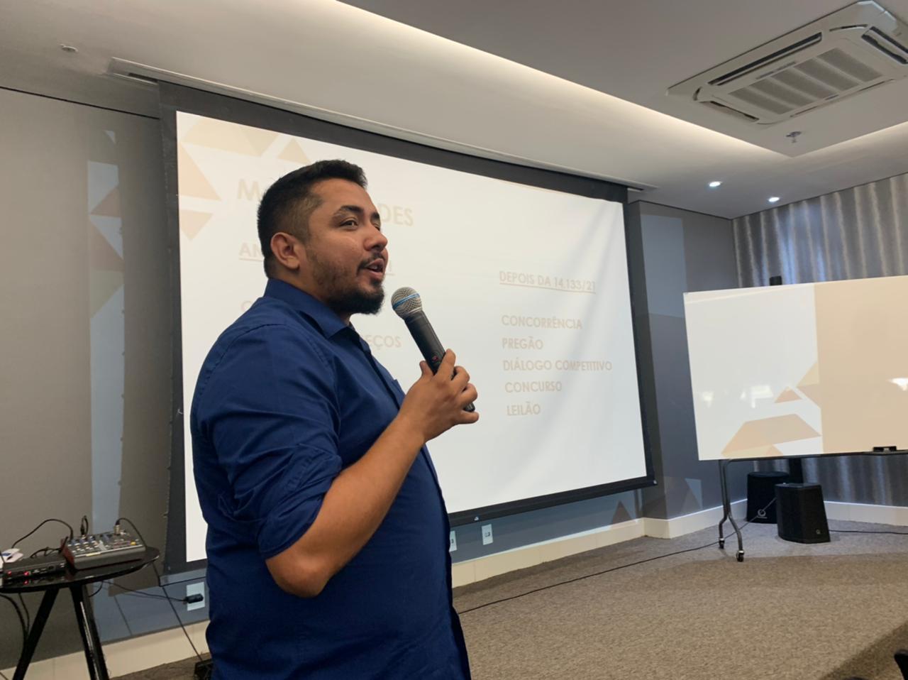 Palestra abordou aspectos do pregão eletrônico para empresários   FOTO: Divulgação