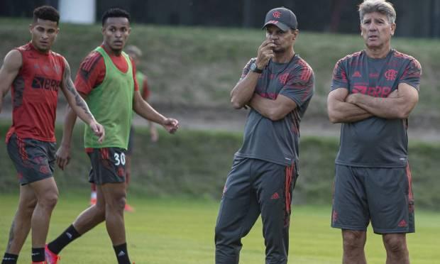 Renato Gaúcho comanda primeiros trabalhos no Flamengo - Foto: Alexnadre Vidal