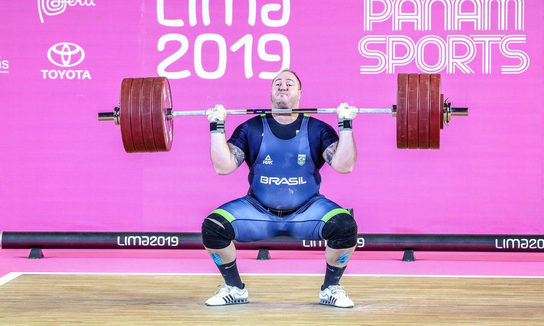 Atleta do levantamento de peso do Brasil, Fernando Reis, está fora das Olimpíadas- Pedro Ramos- Rededoesporte
