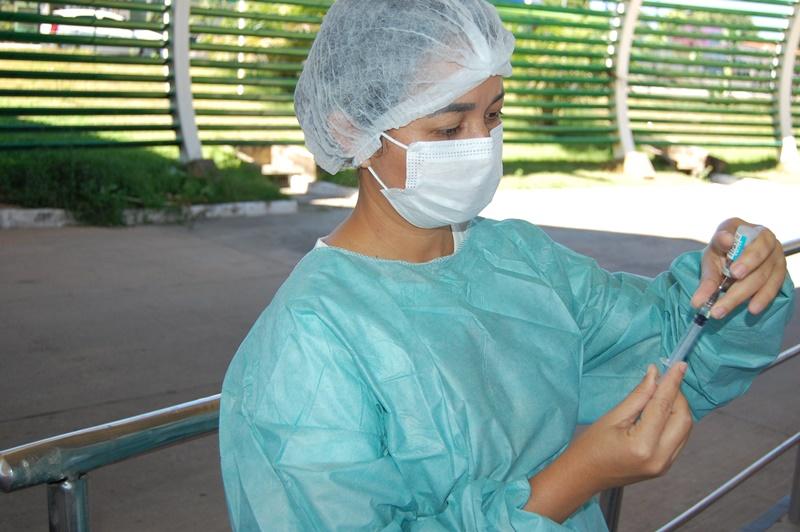 Ao todo foram recebidas do Ministério da Saúde 2.041.820 vacinas - Foto: Divulgação