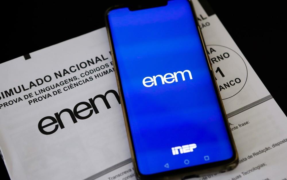 Página Participante ENEM (Foto: Reprodução)