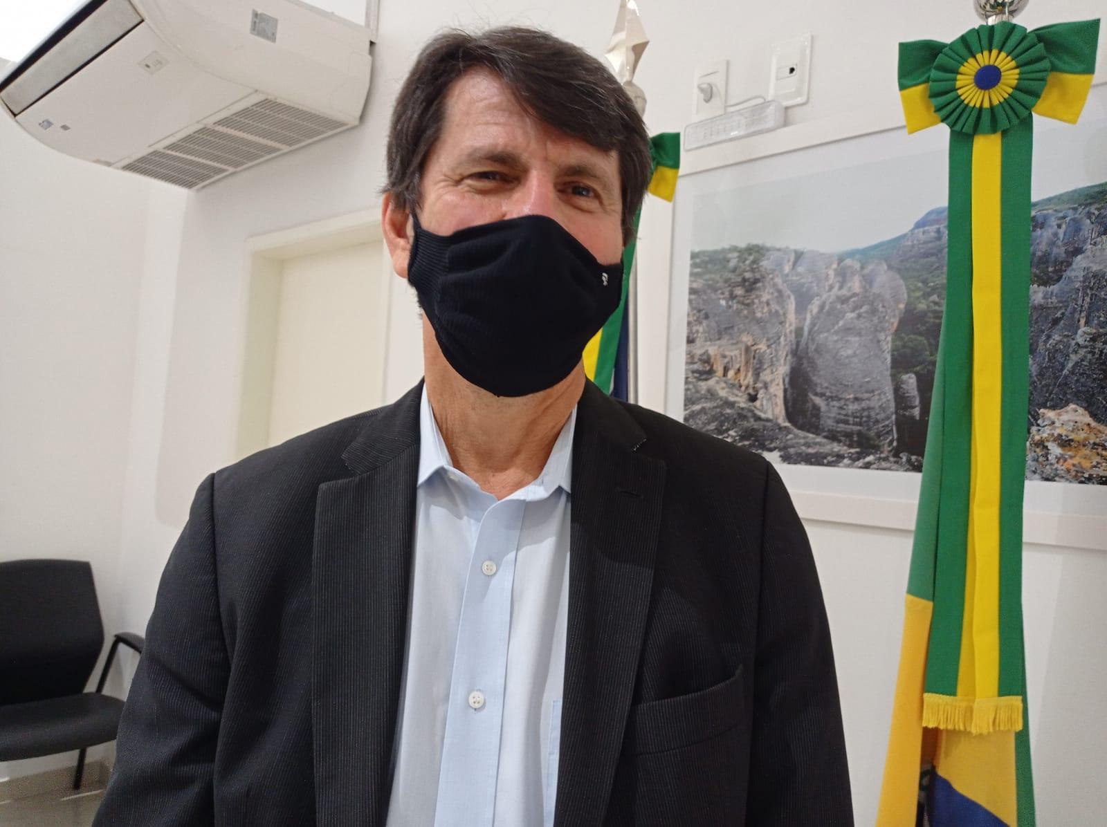 Clésio Eloy, da diretor-presidente da Casa dos Ventos (Foto: Efrém Ribeiro)