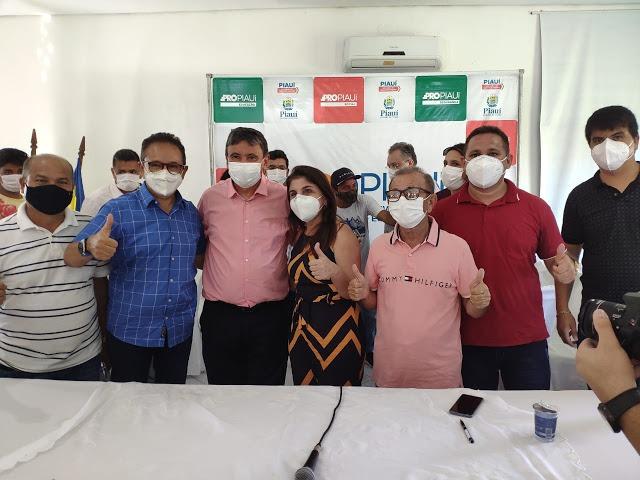 Wellington Dias visita obras e autoriza ações do PRO Piauí em Luís Correia  - Imagem 1