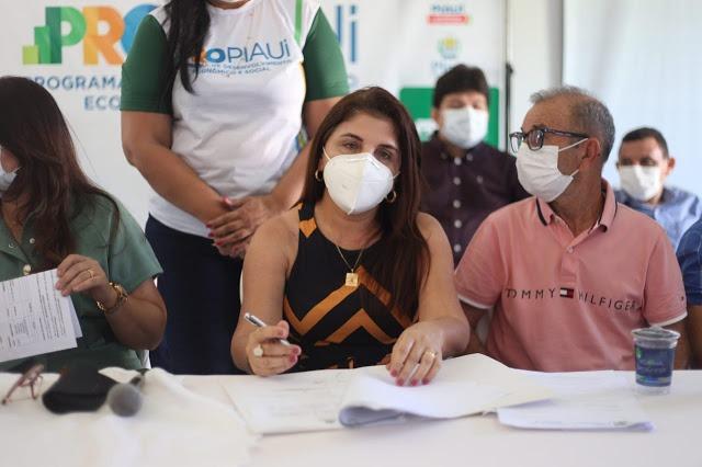 Wellington Dias visita obras e autoriza ações do PRO Piauí em Luís Correia  - Imagem 4