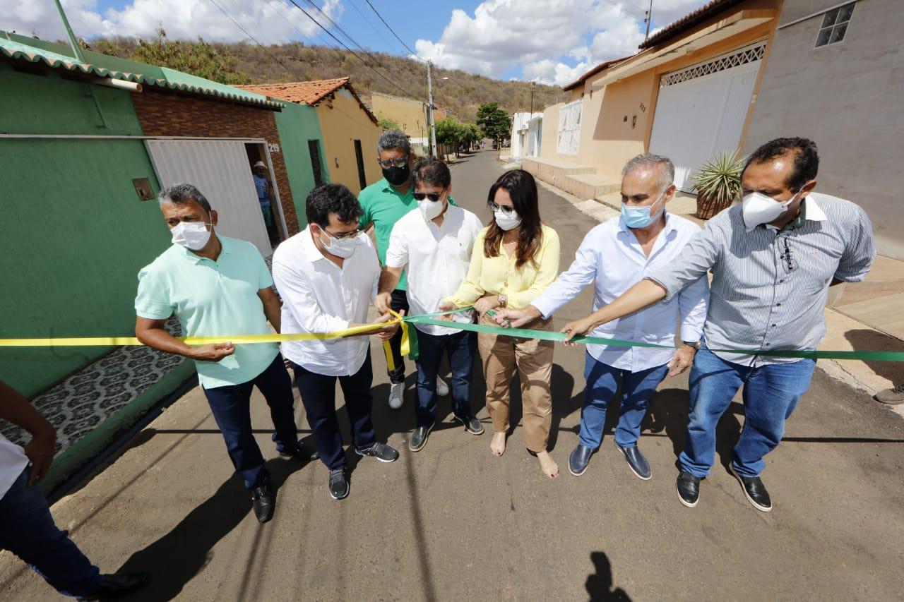 Além de Picos, Fonteles inaugurou obras em outros municípios - Foto: Ccom