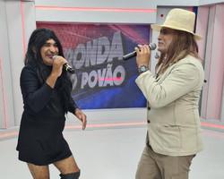 Airton e Chupetinha interpretam Alceu Valença e Juliette