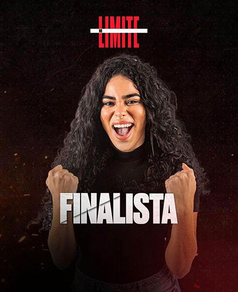 Piauiense ELANA é uma das finalistas do No Limite. (Foto: Reprodução)