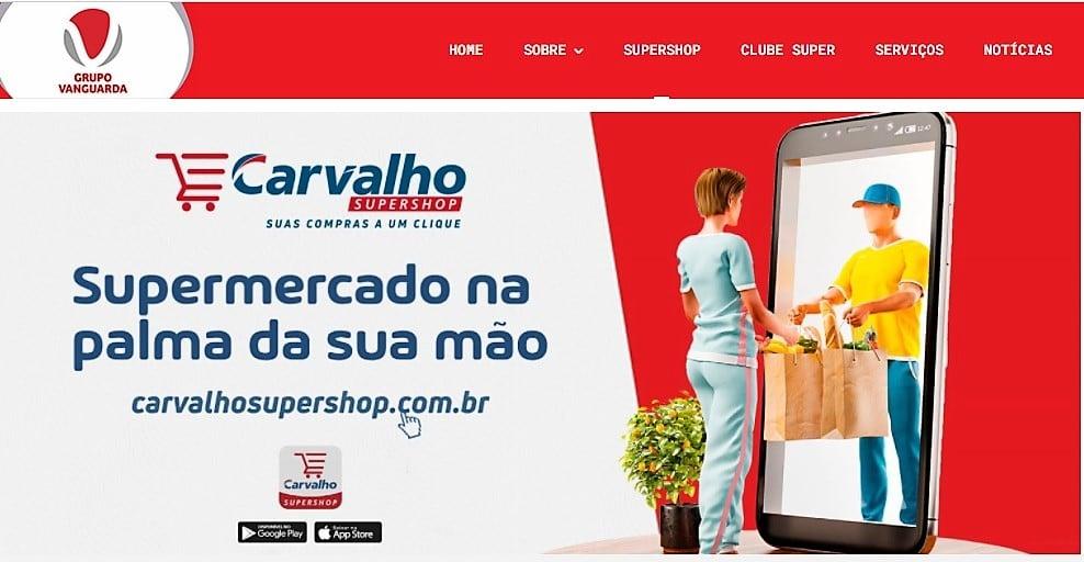 O investimento no e-commerce deu resultados: o tíquete médio do cliente online é de quase R$ 500 (Reprodução/site)