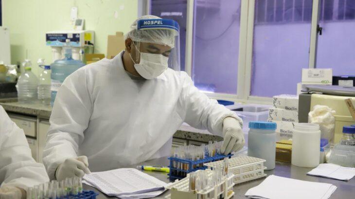 Lacen divulga resultado de análises sobre variantes da Covid-19 no Piauí (Foto: Ascom)