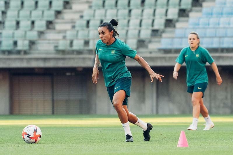 Seleção feminina de futebol/ Foto: Sam Robles/ CBF