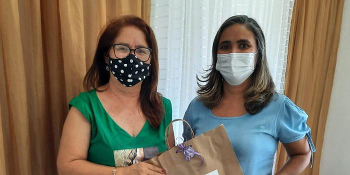 Creche Tia Lucinha homenageia Professora Luzinete da Silva Campos
