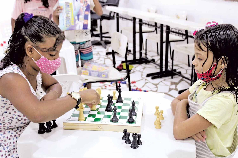 Projeto acolhe 350 crianças (Foto: Raissa Morais)Projeto acolhe 350 crianças (Foto: Raissa Morais)