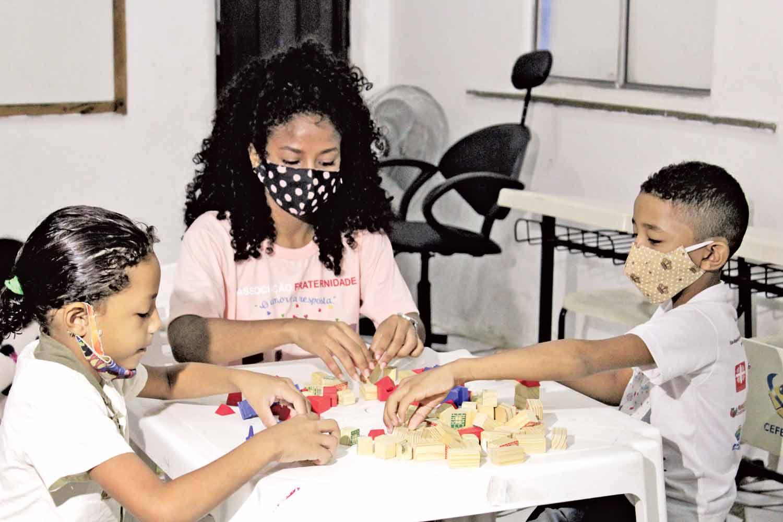 Projeto acolhe 350 crianças (Foto: Raissa Morais)