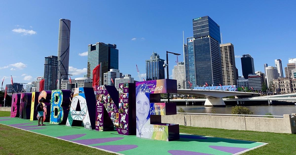 Brisbane, na Austrália, sediará os Jogos Olímpicos de 2032- Foto: Reprodução