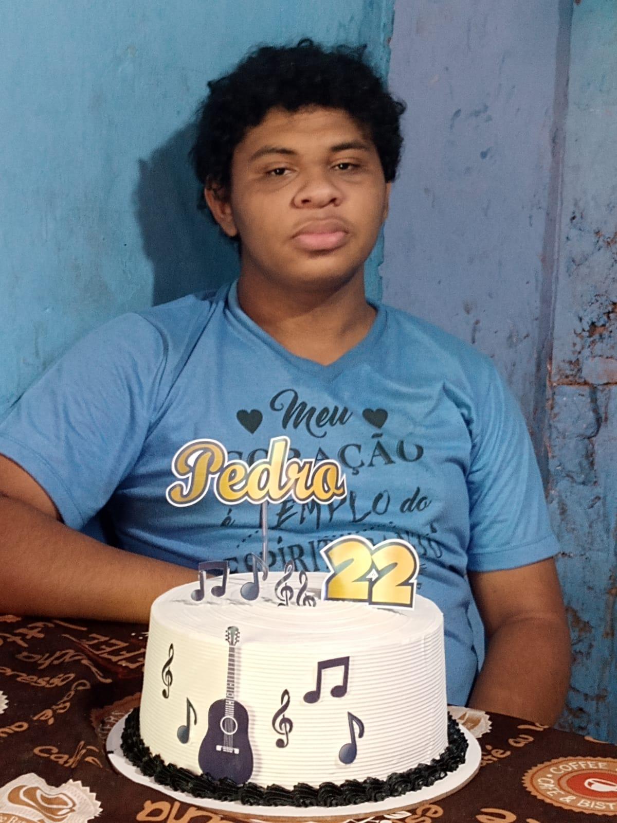 Pedro saiu de casa no último domingo e até agora a família não sabe sobre seu paradeiro - Foto: Arquivo Pessoal