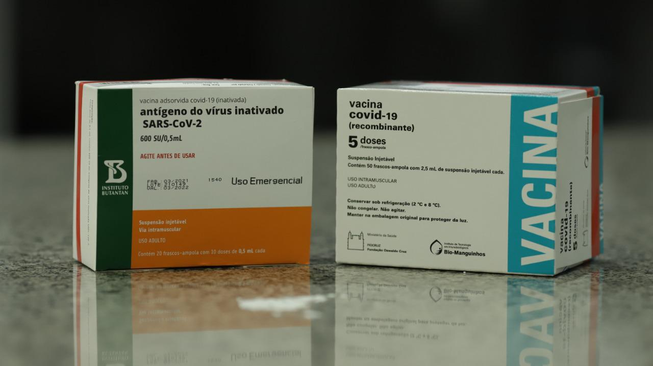 Piauí recebeu ontem doses da AstraZeneca e Coronavac; Pfizer deve chegar hoje - Foto: Divulgação/Sesapi