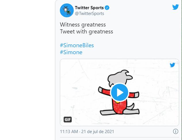 Emoji faz homenagem a Simone Bile/reprodução