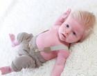 Fofurômetro: bebê com cabeleira loura espetada conquista redes socais