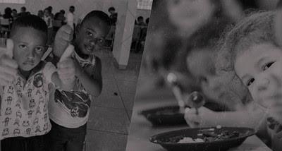 Fome atinge crianças e adolescentes no Brasil (Divulgação)