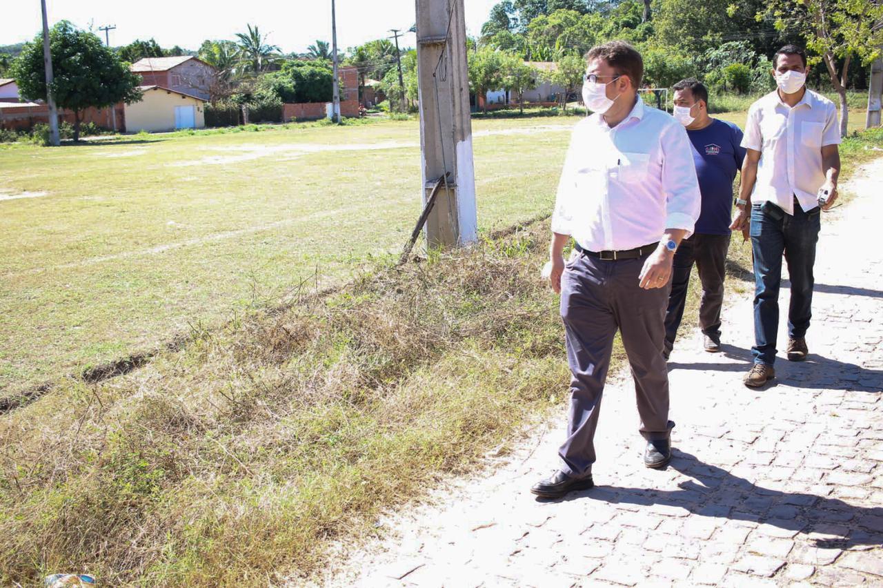Vereador Aluísio Sampaio visita comunidades rurais de Teresina (Divulgação)