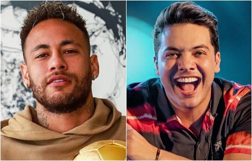 Neymar e Wesley Safadão - Foto: Reprodução